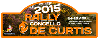 Lista oficial inscritos Rally Curtis 2015