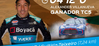Alex Villanueva sigue liderando, y gana el TC5